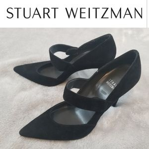 NWOT Stuart Weitzman Pointed Stiletto Suede 7